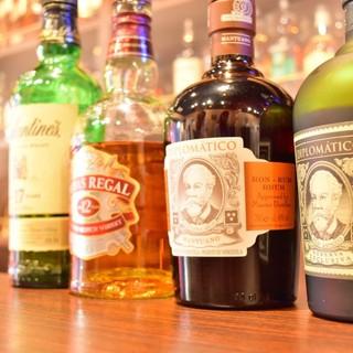 スコッチ中心に250種超える洋酒がズラリ