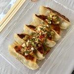 GARDEN PARTY cafe + kitchen - ラム肉の焼ぎょうざ