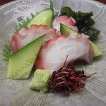 高砂 - 蛸刺身