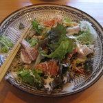 炊き餃子・手羽先 オクムラ - 長崎海鮮サラダ