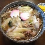 そば処 一庵 - 料理写真:とりそば 750円
