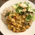プルーカフェ - 豆乳カレー 発芽玄米