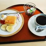 シーゲール - 料理写真:ホットコーヒー(420円)お菓子付き