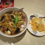 91223348 - 海鮮麺・半チャーハン