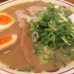 天下一品 - 味付煮卵ラーメン(並)(854円)