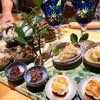 伊藤家のつぼ - 料理写真:前菜盛り合わせ(サザエつぼ焼き、しいら南蛮漬け、穴子手まり鮨など)