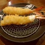 大阪串かつ テンテコマイ - えび(100円)