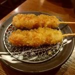 大阪串かつ テンテコマイ - ひなどり(100円)