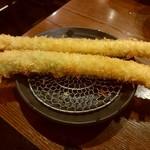 大阪串かつ テンテコマイ - 極太アスパラ(250円)
