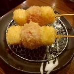 大阪串かつ テンテコマイ - チーズトマト(100円)