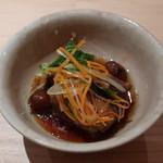 はせ川 - 煮物(牛赤ワイン煮込み)