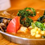 カレーの店 プーさん - 料理写真:野菜ビーフ