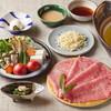たか福 - 料理写真:昼の黄金しゃぶしゃぶセット4,500円(税別)