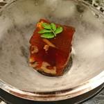 魚貝三昧 げん屋 - 先付け  穴子の煮こごり