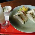 サンマリノ - サンドイッチのん\630