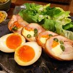 豆家食堂 - 照り焼きロールチキン