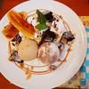 おかしラボ ソレイユ ソレイル - 料理写真:キャラメルバナナのパンケーキ 1,300円