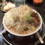 麺屋 婆娑羅 - 中らーめん  640円