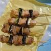 ミートショップいのうえ - 料理写真:ねぎま塩(もも、豚)