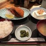 新蔵 - アジフライ定食