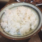 たん焼専門店 高甲 - 麦飯