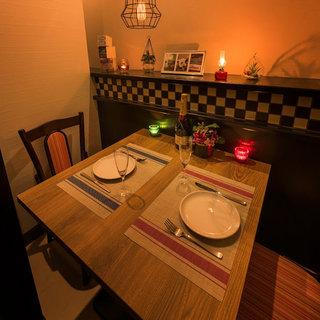完全個室でゆっくりとお食事をお楽しみいただけます◎