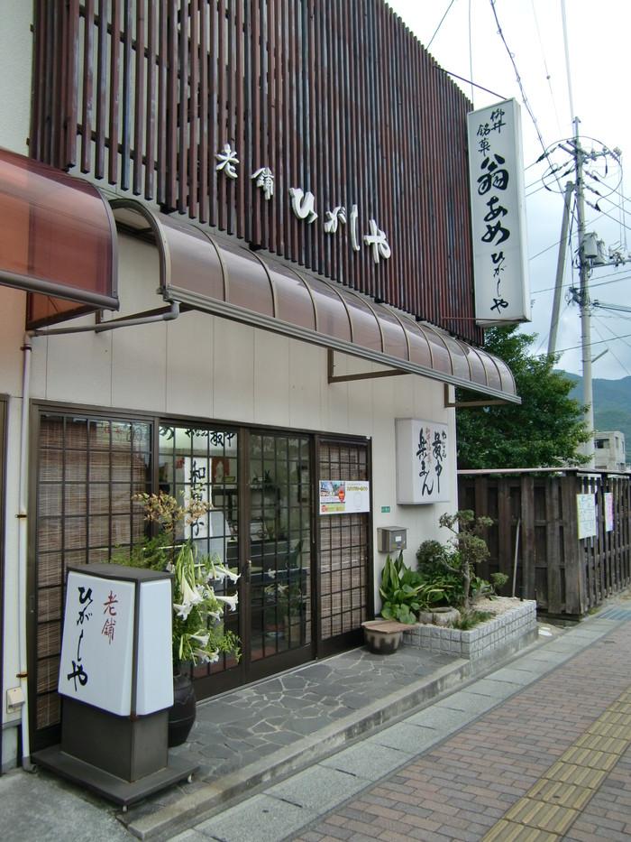 ひがしや菓子店