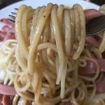 スパゲッティハウス ヨコイ - ウインナーも一緒に食べないとww
