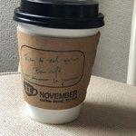 ノベンバー コーヒースタンド -