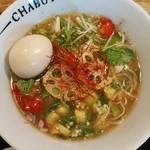 とんこつらぁ麺-CHABUTON-  - 新野菜出汁らぁ麺
