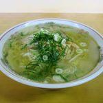 名水ラーメン - 料理写真:塩ラーメン(700円)