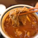 手打ちそば はせ川 - 料理写真:2018 カレーつけ麺