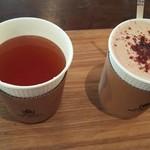 okinogami blue cacao's - カカオティー ホットチョコレート