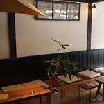okinogami blue cacao's - 店内 ウッドデッキ
