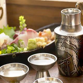 鮮度にこだわり!全国から厳選した極上の日本酒!