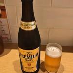 とんかつ棟田 - 瓶ビール 680円