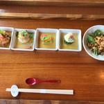 海菜寺 - 前菜&サラダ