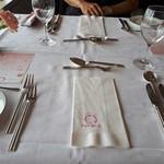レストラン アラスカ 吾妻橋店 - テーブルセット