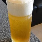 綉花 - 生中(578円)で乾杯 ※エビスビールです