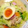 白磁亭 - 料理写真:温泉ちゃんぽん¥650。お値段から期待する以上にお野菜のボリュームがすごいです。麺もスープもおいしい!