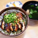 寿司・うなぎ 羽子吾 - うなぎ まぶし丼 ¥1,700