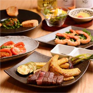 外せない日のディナーには、シーンで選べるコースがおすすめ。