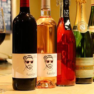 美味しい料理とお酒のペアリングを満喫。アラカルトも豊富。
