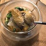 NODO - 小さな前菜の中の焼きナス