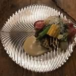 NODO - 近郊野菜と前菜盛り合わせ