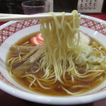 万味 - 麺工房山田のストレート麺