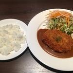 洋食ビストロ Awano - ミンチカツ