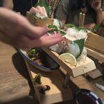 食道楽とさか - 刺身盛り