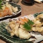 食道楽とさか - ハモの天ぷら