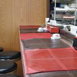 ビーフステーキ専門店 ひよこ - 狭過ぎるカウンター席